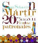 Cartel de las Fiestas Patronales de San Sebastián de los Reyes 2017.