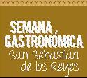 Logotipo de la Semana Gastronómica de San Sebastián de los Reyes.