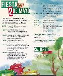 Cartel de las Fiestas del 2 de mayo de San sebastián de los Reyes.