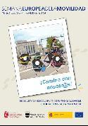 Cartel de la Semana Europea de la Movilidad.