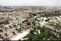 Vista aérea del casco urbano de San Sebastián de los Reyes.
