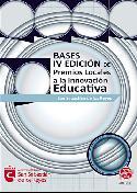 Portada de las bases de la IV Edición de los Premios Locales a la Innovación Educativa.