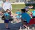 Los niños de Sanse ya disfrutan de sus Campus de verano, con estrictas medidas de higiene y seguridad