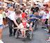 Los niños con necesidades especiales también pudieron disfrutar de los encierros