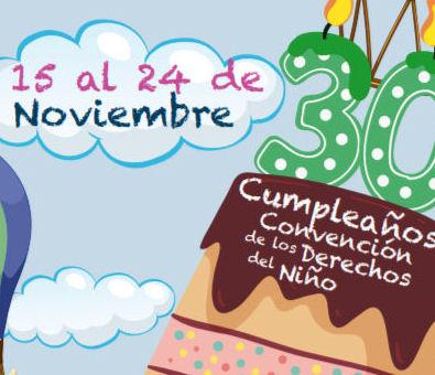 La Semana de la Infancia de Sanse conmemora la Convención de los Derechos del Niño