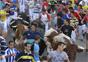 Rápido y emocionante segundo encierro de las Fiestas con tres contusionados leves