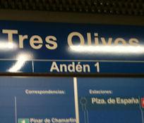 Sanse inicia contactos con la Comunidad y el Ayuntamiento de Alcobendas para eliminar el transbordo de Metro en Tres Olivos